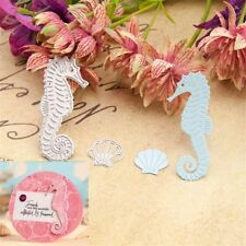 Metal Cutting Dies Stencil DIY Scrapbooking Album Embossing Cards Ink Sea Horse