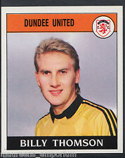 Panini Football 1989 Sticker - No 368 - Dundee United - Billy Thompson (D1)