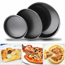 6''-12'' Carbon Steel Round Deep Dish Baking Pan Non-Stick Bakeware Pizza Tray