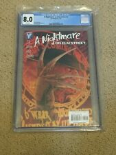 Nightmare on Elm Street 2 CGC 8.0 White Pages (Classic Freddie Krueger cover!!)