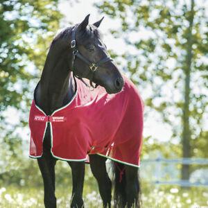 Horseware Amigo Net Cooler - Red/White