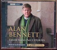 Alan Bennett / Untold Stories Part 1: Stories - 2CD Audiobook - MINT