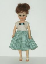 """Vintage 1950's Horsman 10"""" FLAME RED HAIR CINDY DOLL  High Color"""