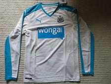 Newcastle United FC jersey (Men's S) -Long Sleeve