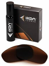 Polarized IKON Replacement Lenses For Oakley Split Jacket Bronze/Brown