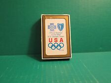 Official Sponsor Of The 1992 U.S. Olympic Team Plastic coated Playing Cards