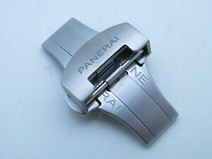 Panerai Luminor Marina Steel Folding Deployment Buckle 24mm / 22mm  Deployant