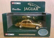 Corgi 01805 Gold Plated Jaguar Mk.II Limited Edition Model