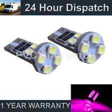 2X W5W T10 501 CANBUS ERROR FREE PINK 8 LED INTERIOR COURTESY BULBS HID IL101601