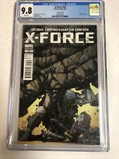 X-Force (2010) # 28 (CGC 9.8 WP) Death Of Cable | David Finch Variant Cover