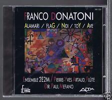FRANCO DONATONI CD NEW ALAMARI / PAUL MEFANO/ JACQUES MEFANO/ PIERRE YVES ARTAUD