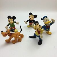 5 Vintage Walt Disney Productions PVC Figures Toys