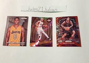Jordan Clarkson Panini Prizm, Revolution & Refractor Cards RC NBA Rising⭐🏀🔥😯