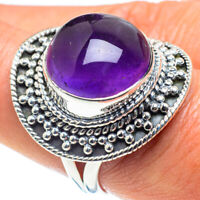 Amethyst 925 Sterling Silver Ring Size 8.5 Ana Co Jewelry R58493F