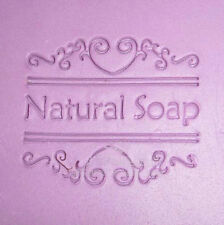 Natural Flower Soap Soap Stamp Soap Mold Seal Resin DIY Handmade Soap
