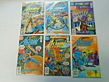 Superman Action Comics Lot From #525-549 11 Different Average 8.0 VF (1981-1983)