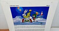 Rare Warner Bros Hares Best Friend Laminated Cel Promo Binder Page