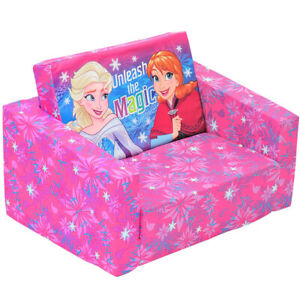 Frozen Classic 60cm Flip Out Home Sofa/Couch/Chair Kids/Children Furniture Pink