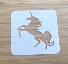 Face paint stencil reusable washable stubbs unicorn  Mylar 4.5 x 4.5 cm