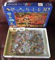 Clementoni Orient Dream 1000 Piece 3D Magic Jigsaw Puzzle Asia 100% complete