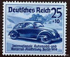 ALLEMAGNE  TIMBRE NEUF **  DEUTSCHES REICH 1939 VW COCCINELLE  Yt629 57M45