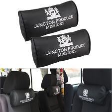 2x Car Headrest Cushion Neck Pad Pillow JUNCTION PRODUCE VIP Neck Rest Support