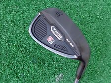 Wilson Staff TW9 50 Gap Wedge Tour Milled Black Finish 50.06 Steel Wedge NEW RH
