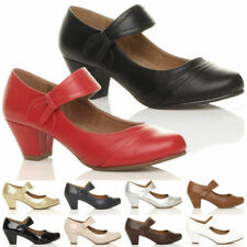 Mid (1.5-3 in.) Business Synthetic Leather Women's Heels