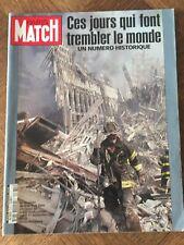 Paris Match 2731 Numéro Spécial 11 Septembre 2001