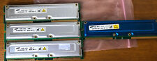 SAMSUNG 800-45 101 128MB MR16R0828BN1-CK8 (3) And 800-45 100 (1) RAM  Lot Of 4