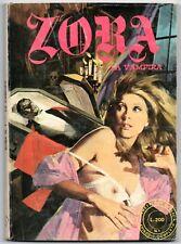 ZORA N.1 LA VAMPIRA originale 1972 1a prima serie SEGI I a AUTENTICO