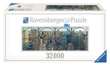 NEW YORK CITY WINDOW A VIEW OF MANHATTAN 32000 PIECE JIGSAW PUZZLE RAVENSBURGER