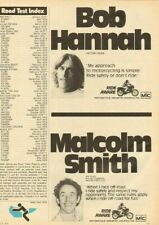 1979 Motorcycle Industry Council with Bob Hannah & Malcolm Smith - Vintage Ad