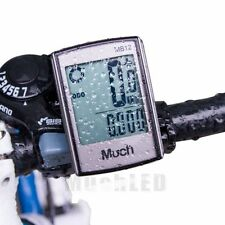 Wireless Cycling Bike Bicycle Computer Odometer Speedometer LCD Backlight US