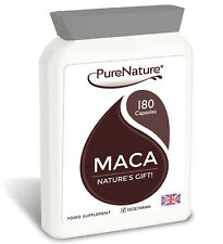 Maca Root Capsules 3000mg - 180 Capsules - 6 Month Supply