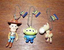 Toy Story Gacha egg Swinging Figures bundle set of 3 Bullseye Alien Woody Disney