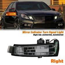 Right Side Mirror Indicator Turn Signal Light For Mercedes W204 W212 W221 07-13