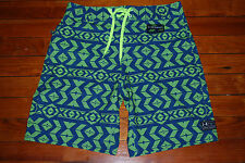 New Men's Under Armour Storm Seahawks Neon Geon Board Shorts (32)