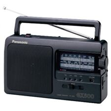 Radio portatil transistor AM FM  Panasonic RF-3500E9-K color negro calidad