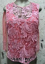 BEBE FRONT LACE / BACK PLEATED TOP (NWOT  / SIZE US S)