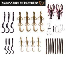 Savage Gear Black Bass Pro Pack Kit - 33-teilig, Köderset für Barsch