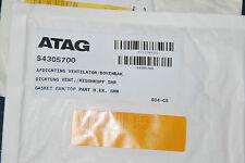 ATAG S4305700 DICHTUNG LÜFTER MISCHKOPF SHR OSS1/2/3/4 PAKKING AFDICHTING NEU