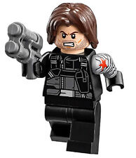 NEW LEGO WINTER SOLDIER MINIFIG 76051 marvel figure minifigure civil war bucky