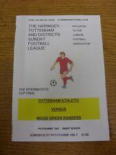 13/04/1997 Haringey Tottenham Sunday League Intermediate Cup Final: Tottenham At