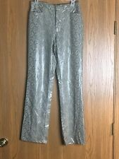 Xhilaration Women's Size 7 Snake Skin Look Pants Polyurethane Great Condition