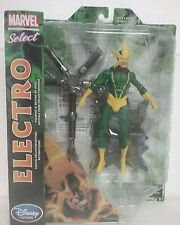 Marvel Diamond Select Spiderman Electro Action Figure - Collector Edition