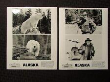 1996 Alaska Movie Promo 8x10 Stills Vf 8.0 Lot of 2 Polar Bear
