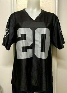 NFL Team Apparel Oakland Raiders Darren McFadden Jersey Women Sz: XL Black- Used