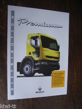RENAULT PREMIUM DISTRIBUTION 210-340 Prospectus/Brochure/DEPLIANT, d, 11.1996