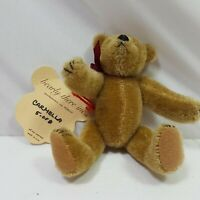 Bearly There Plush Pose Able Bear Small Brown Carmella NWT Number 5 Of 8 Decor